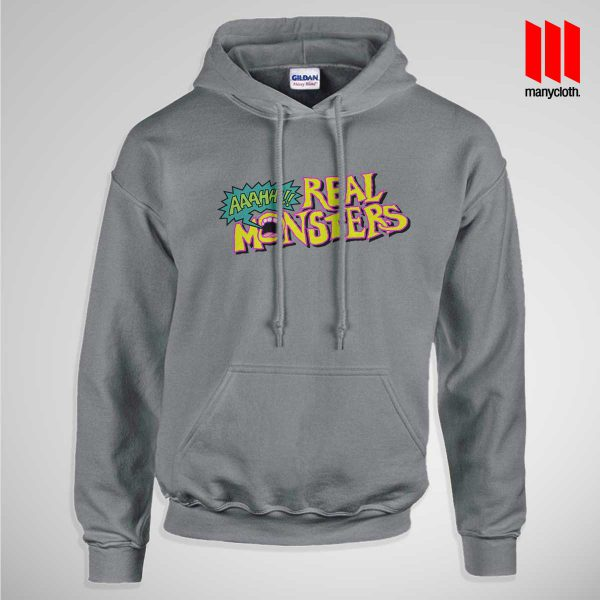 The Real Monsters Logo Hoodie is the best and cheap clothing