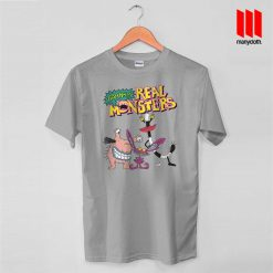 Aaahh The Real Monsters T Shirt