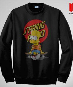 Bart The Springfield Skateboarder Sweatshirt