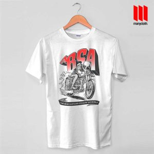 BSA Cafe Racer T Shirt is the best and cheap designs clothing for gift
