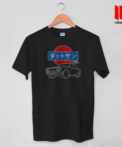 510 Line Art Of Datsun T Shirt