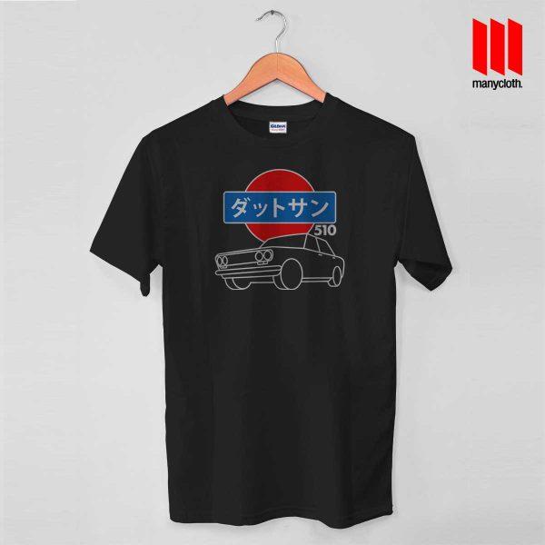 510 Line Art Of Datsun T Shirt