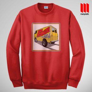 Fu Manchu Boogey Van Live At Roadburn Red Sweatshirt 300x300 Fu Manchu Boogie Van Band Sweatshirt