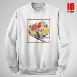 Fu Manchu Boogie Van Band Sweatshirt In Unisex Size
