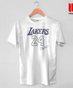 Coolest Lakers 24 T Shirt
