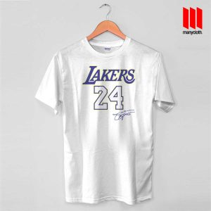 Coolest Lakers 24 T Shirt is the best and cheap designs clothing for gift