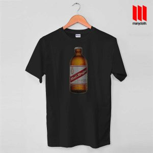 Red Stripe Bottles T Shirt is the best and cheap designs clothing for gift