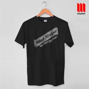 Red Stripe Grunge Swash T Shirt is the best and cheap designs clothing for gift