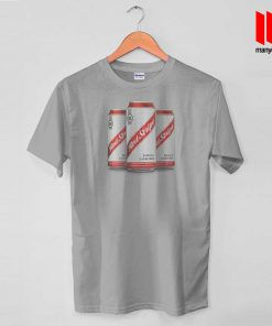 Red Stripe Canned T Shirt