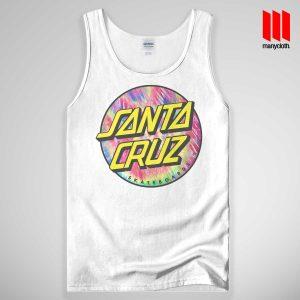 Santacruz Tie Dye Tank Top Unisex - Best Gift Women's Tank Tops - Best Gift Men's Tank Tops