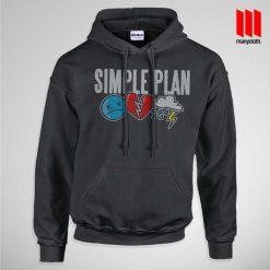 Simple Plan Icons Hoodie
