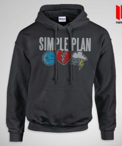 Simple Plan Icons Hoodie