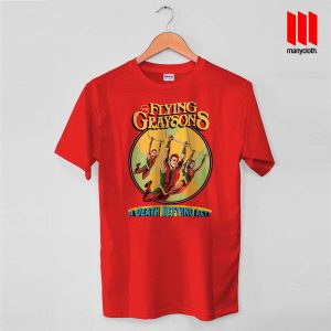 The Flying Graysons T Shirt is the best and cheap designs clothing for gift
