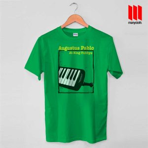 Augustus Pablo At King T Shirt is the best and cheap designs clothing for gift