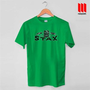 Early Year Of Stax Records Green T Shirt 300x300 Early Year Of Stax Records T Shirt