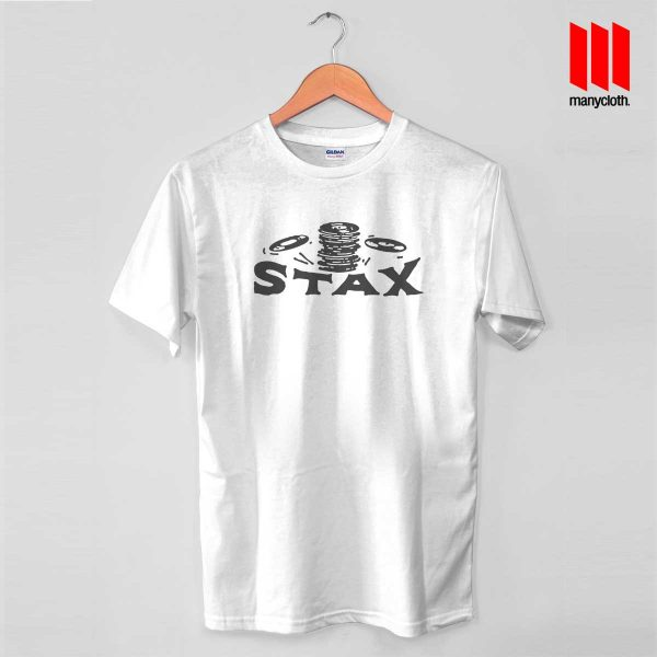Early Year Of Stax Records White T Shirt 600x600 Early Year Of Stax Records T Shirt