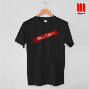 Red Stripe Swash Black T Shirt 300x300 Red Stripe Swash T Shirt