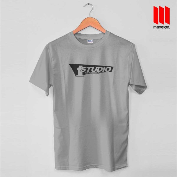Studio One Grey T Shirt 600x600 Studio One Records T Shirt