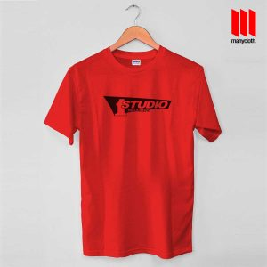 Studio One Red T Shirt 300x300 Studio One Records T Shirt