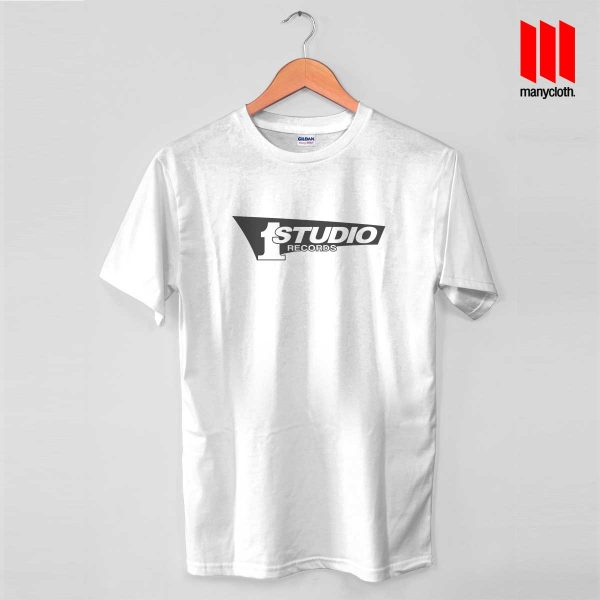 Studio One White T Shirt 600x600 Studio One Records T Shirt