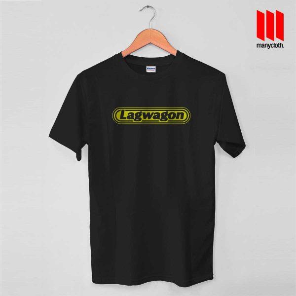 Lagwagon Logo Black T Shirt 600x600 Goleta's Punk Rock Band T Shirt
