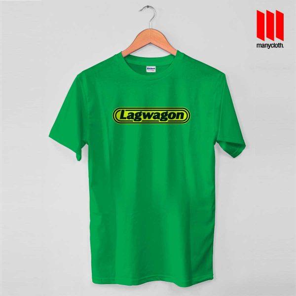 Lagwagon Logo Green T Shirt 600x600 Goleta's Punk Rock Band T Shirt