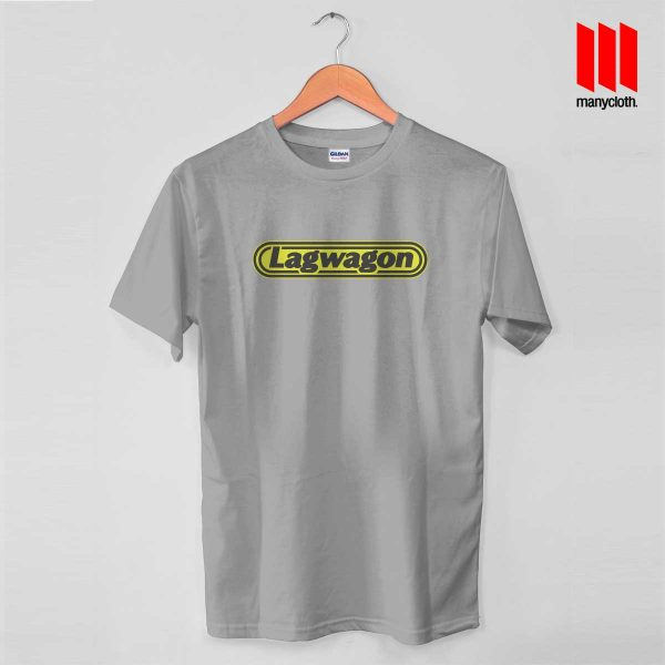 Lagwagon Logo Grey T Shirt 600x600 Goleta's Punk Rock Band T Shirt