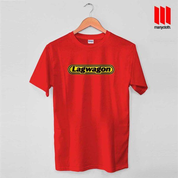 Lagwagon Logo Red T Shirt 600x600 Goleta's Punk Rock Band T Shirt