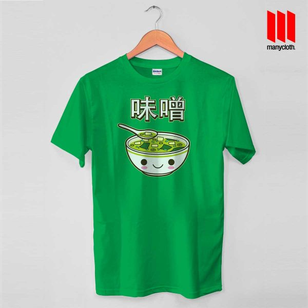 Miso Soup T Shirt is the best and cheap designs clothing for gift