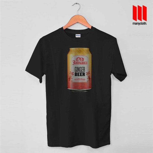 Old Jamaica Gingger Beer Black T Shirt 600x600 Old Jamaica Ginger Beer T Shirt