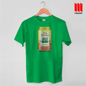 Old Jamaica Ginger Beer T Shirt is the best and cheap designs clothing for gift
