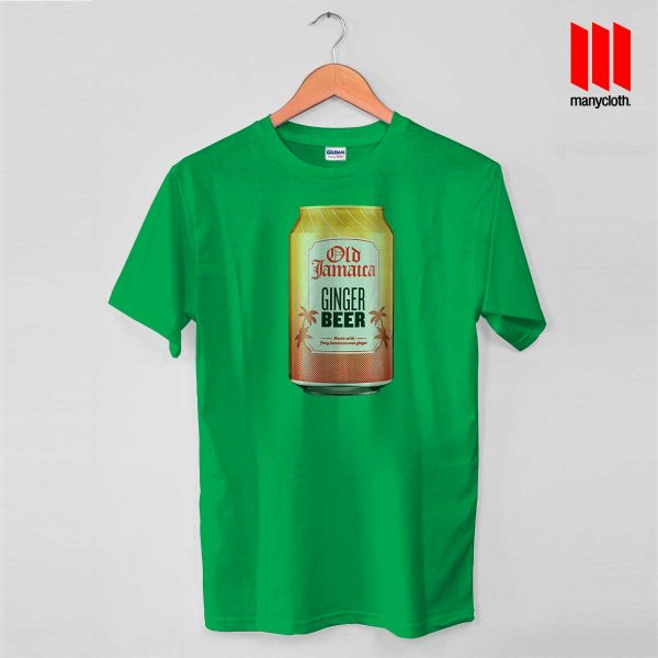Old Jamaica Gingger Beer Green T Shirt 600x600 Old Jamaica Ginger Beer T Shirt