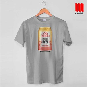 Old Jamaica Gingger Beer Grey T Shirt 300x300 Old Jamaica Ginger Beer T Shirt