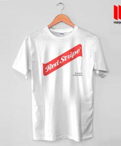 Red Stripe Jamaican Lager Beer T Shirt
