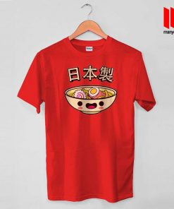 The Happy Ramen T Shirt is the best and cheap designs clothing for gift