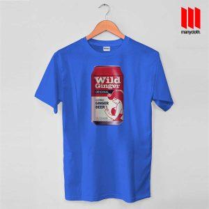 Wild Ginger Beer Blue T Shirt 300x300 Wild Ginger Beer T Shirt