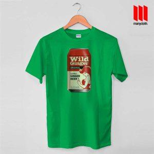 Wild Ginger Beer Green T Shirt 300x300 Wild Ginger Beer T Shirt