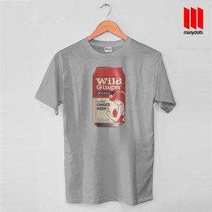 Wild Ginger Beer Grey T Shirt 300x300 Wild Ginger Beer T Shirt