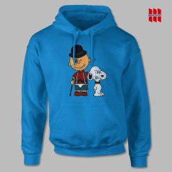 Charlie Brown Clockwork Orange Hoodie