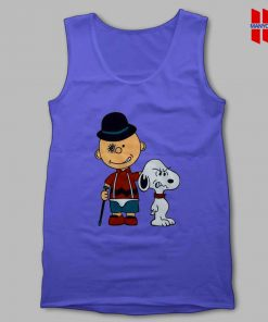 Charlie Brown Clockwork Orange Tank Top