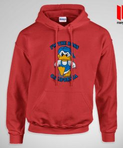 I'm The Boss California Donald Duck Hoodie