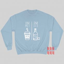Am Pm Drink Korea Daily Routine Sweatshirt
