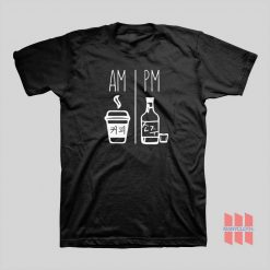 Am Pm Drink Korea Daily Routine T-shirt