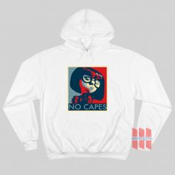 Incredibles Edna Mode No Capes Hoodie