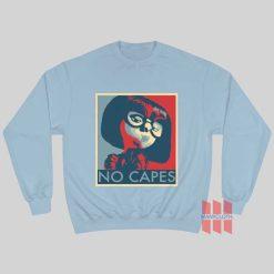 Incredibles Edna Mode No Capes Sweatshirt