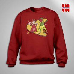 Marvel WandaVision Wanda and Vision Sweatshirt