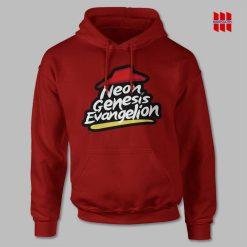 Neon Genesis Evangelion x Pizza Hut Hoodie
