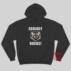 Raccoon Geology Rocks Hoodie