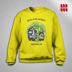 Rick And Morty Among Us Sweatshirt