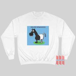 Zebra After Defragmentation Sweatshirt